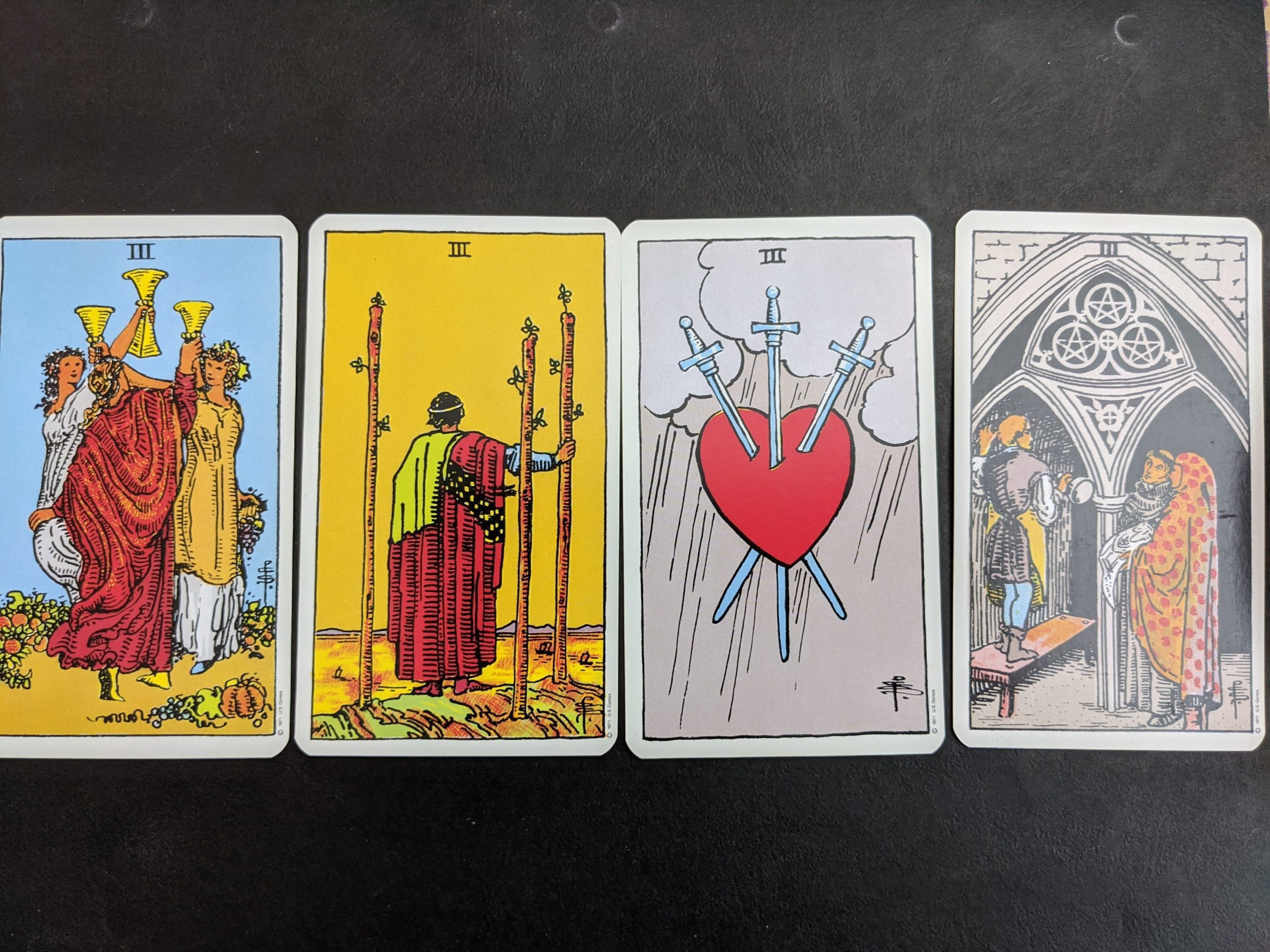 Tarot for Rune Lovers – The Threes